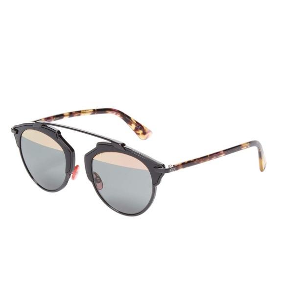 96b3fa15c313 NEW Dior So Real Round Tinted Frame Sunglasses